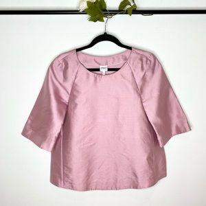 Armani Collezioni Silk Blend Trapeze Blouse NWT
